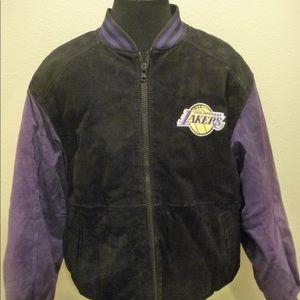 G-III Carl Banks Los Angeles Lakers L Suede Jacket